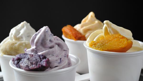 焼き芋ソフトクリーム